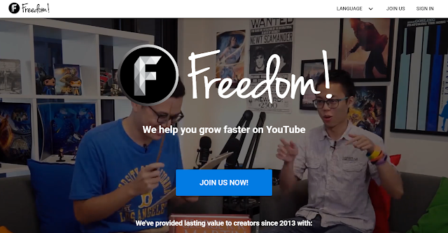Freedom: Best Adsense alternatives to monetise your YouTube channel 2020