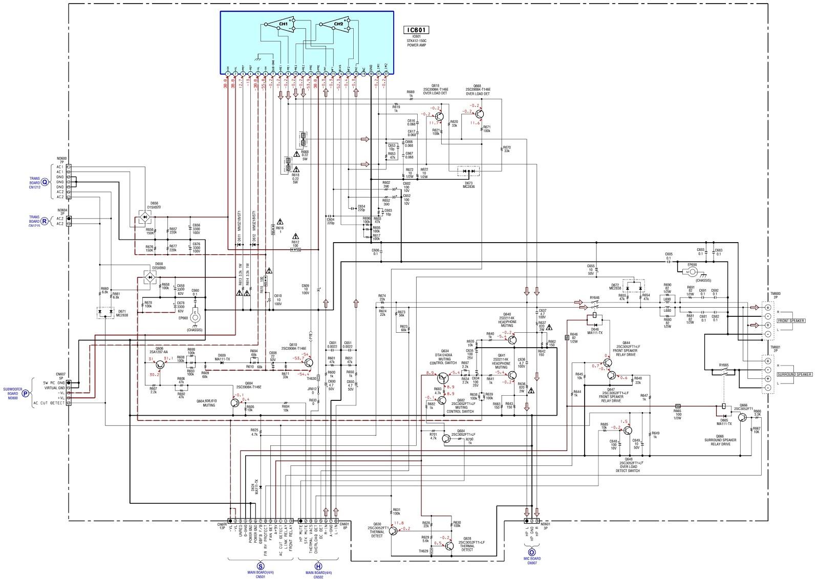 Pretty Tda7265 Amplifier Circuit Diagram Images 2 1 Index 190 Seekiccom Woofer 100 Subwoofer Schematic 2800w High P
