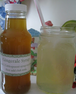 Homemade gingerale concentrate