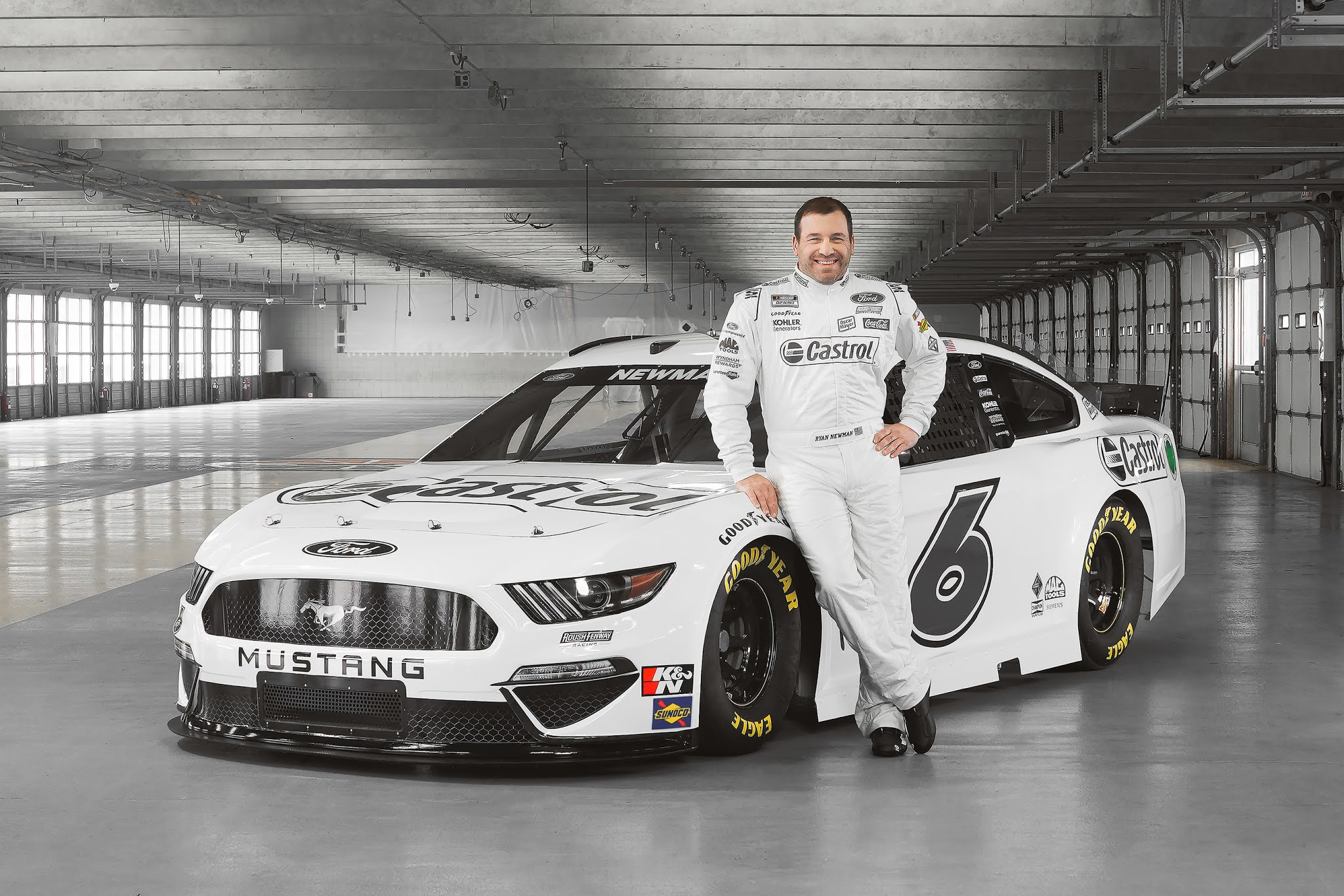 Castrol Supports Roush Fenway Racing To Power First Carbon Neutral NASCAR Race Team