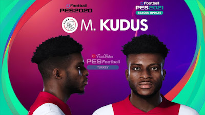 PES 2021 Faces Mohammed Kudus by PES Football Turkey
