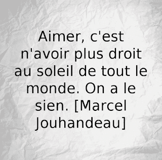 Citation aimer de Marcel Jouhandeau