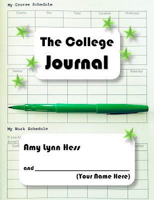 "The College Journal is an 8.5"" x 11"" fill-in-the-blank journal specifically designed for first-year college students. It includes prompts and templates to help you raise your self awareness, take financial responsibility, and keep track of important deadlines, meetings, and assignments."