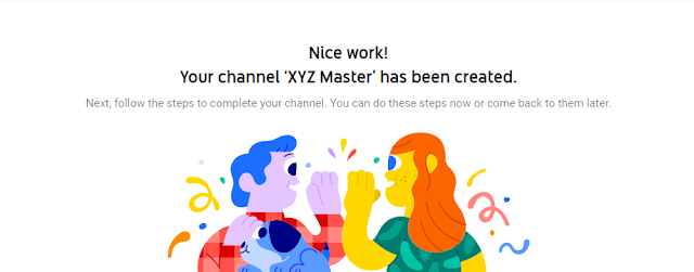 Channel has been created