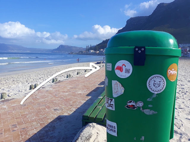 Muizenberg surf stickers