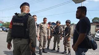 Usai Berondong Mobil Patroli, KKSB Tembaki Polsek Tembagapura Papua