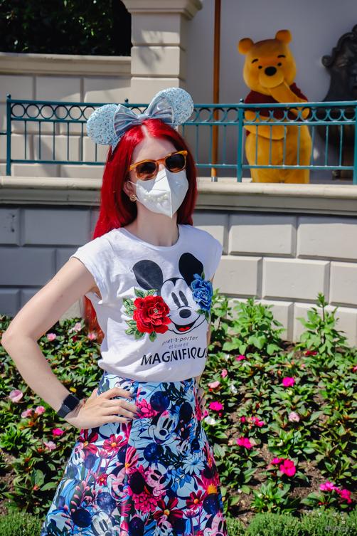 Disneyland Paris Selfie Spot Winnie Pooh