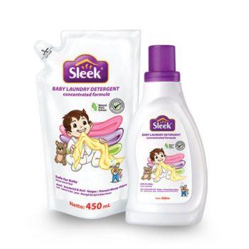 Sabun cuci dengan pewangi untuk pakaian bayi