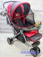 Kereta Bayi BabyDoes CH278 Parade-X Tongkat Dorong dari Depan atau Belakang 2