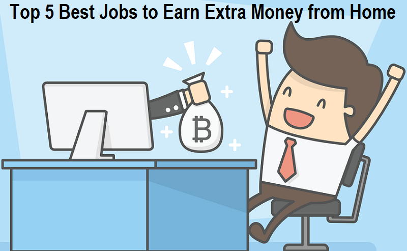 Jobs to Earn Extra Money from Home