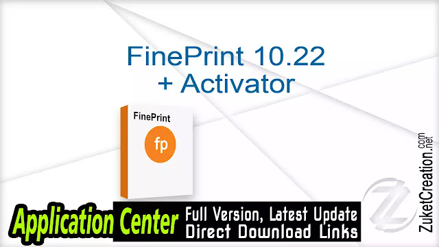 FinePrint 10.22 + Activator
