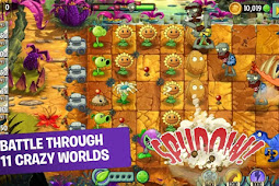 Download Plants vs Zombie 2 Free Mod Apk | Unlimited Everything