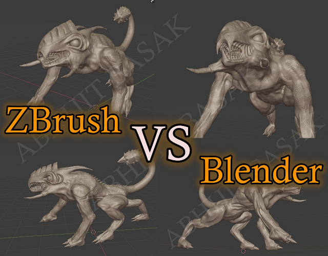 Blender VS Zbrush Sculpting, Which One is better?