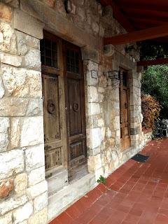 ピサの路面電車線駅舎跡地の入り口