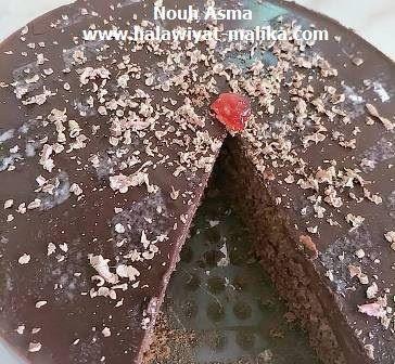 كيك الشوكولا بالفلان