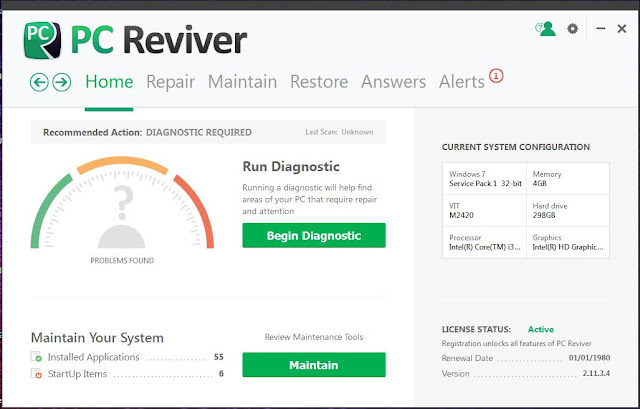 PC Reviver 2.11.3.4 Final Optimizador del Sistema