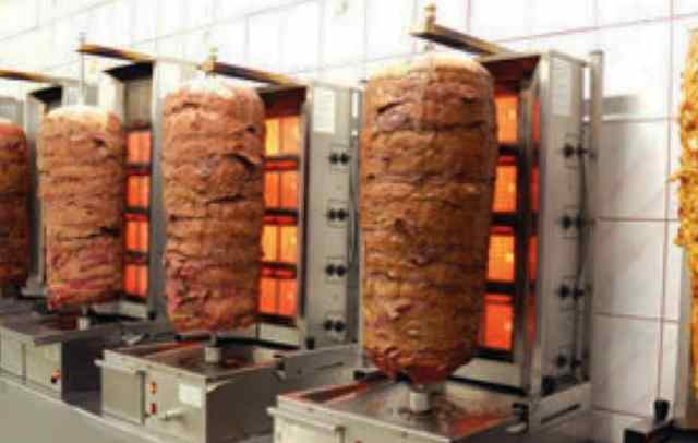 مطاعم شاورما في تركيا