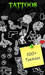 Aplikasi edit foto ultimate tattoo cam