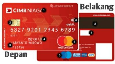 Yuks Mengenal Kode Cvv Cvc Kartu Kredit Debit Cimb Niaga Jejaksemut