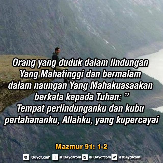 Mazmur 91: 1-2