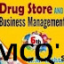 Drug Store and Business Management - MCQs