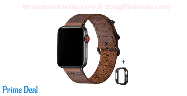 50% off Vintage Leather Bands Apple Watch Band