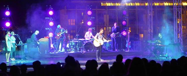 Concierto de James Morrison en el Palazzo dei Congressi en el EUR en Roma el 15 de junio de 2016 dentro del Just Music Festival