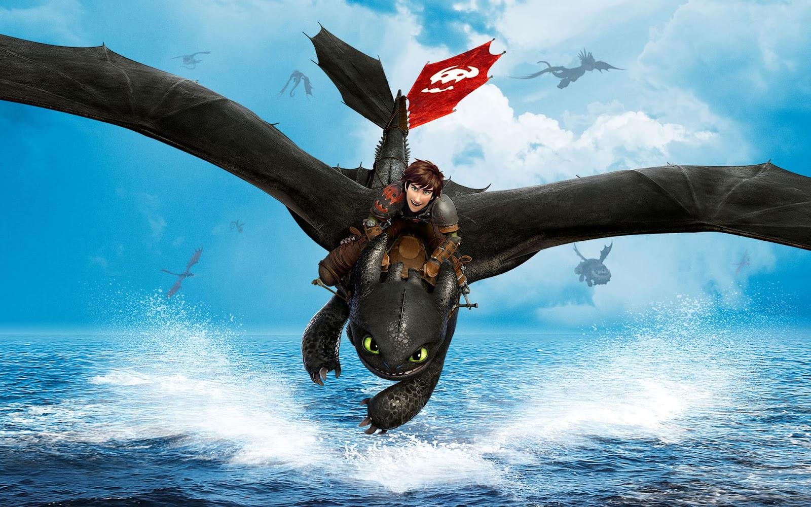 Sdentato trova l'amore nel poster italiano di Dragon Trainer
