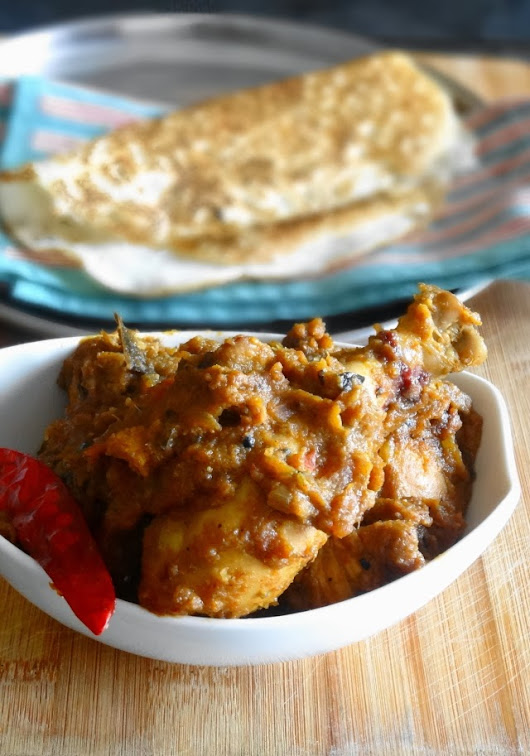 WhenIAte: Chicken Chettinad