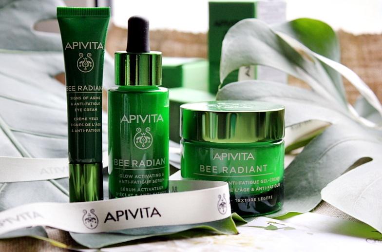 Антивозрастной уход от Apivita: Bee Radiant крем для век, сыворотка и гель-крем для защиты от признаков старения / обзор, отзывы