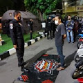 Polisi Amankan 22 Motor Knalpot Brong dan Miras di Fajar Indah