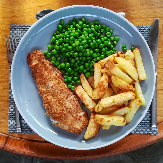 Photo of our fish and chip supper