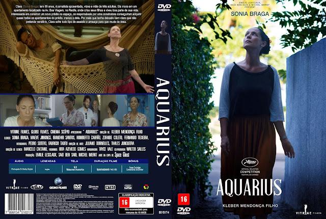 Capa DVD Aquarius