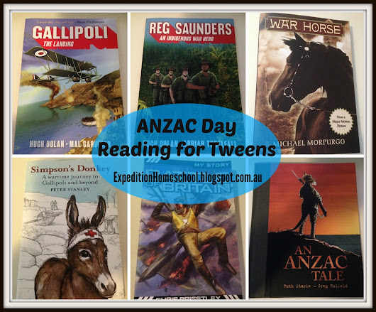 ANZAC Day Books for Tweens