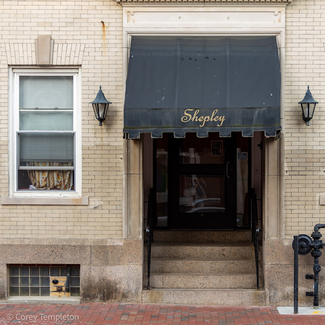 Portland, Maine USA Shepley Apartment Building on Casco Street