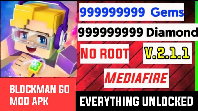 Blockman Go new APK 2.1.1 | Blockman Go new Menu 2.1.1 | Unlimited Diamonds Money and Gcubes