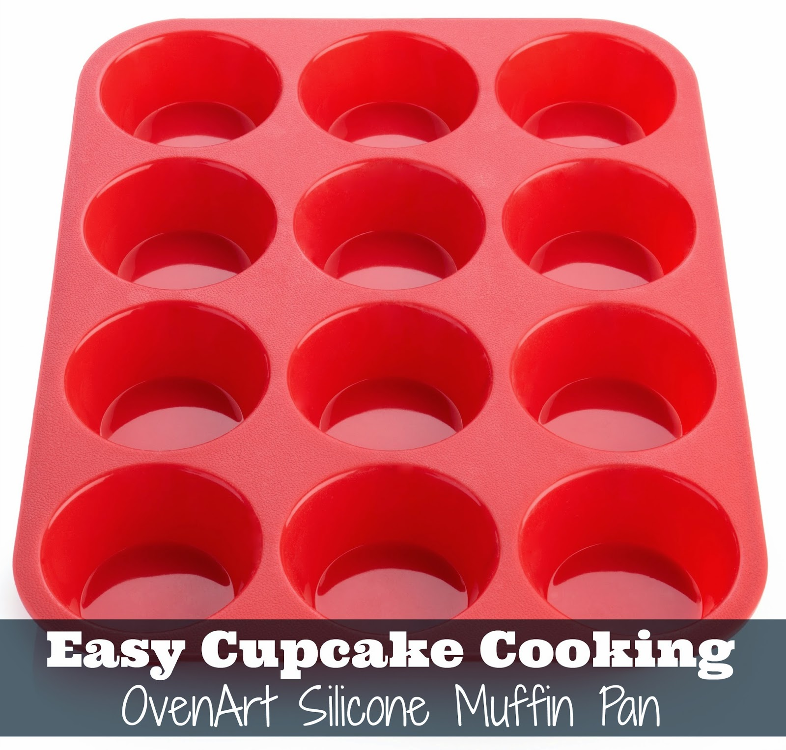 Easy Cupcake Cooking With The Ovenart Silicone Muffin Pan
