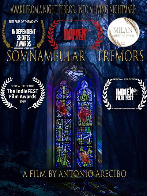 Director & Filmmaker Antonio Arecibo Explores Horrific Possibilities of False Awakenings in Short Film Project - 'Somnambular Tremors'