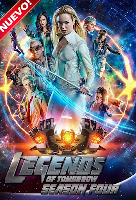 Legends Of Tomorrow (Serie de TV) S04 CUSTOMHD Dual Latino + Sub 4xDVD