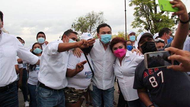 Vivamos el ejercicio democrático en paz: Jesús Vidal