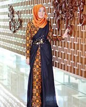 53 Model Baju Batik Modern Terbaru Untuk Wanita Modis Dan