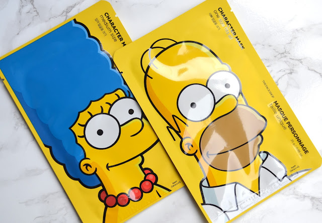 The Face Shop Simpsons Character Sheet Mask Review