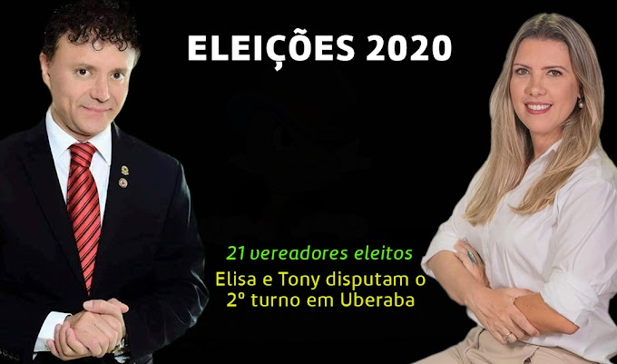 Saldo geral do primeiro turno em Uberaba - Eleições 2020