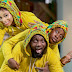 Adorable Photo Of Comedian AY And Family In Matching Outfit (Photos)
