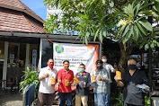 IWO Bali Gandeng Pelaku Usaha Donasikan 2000 Masker dan Oli Motor Untuk Jurnalis