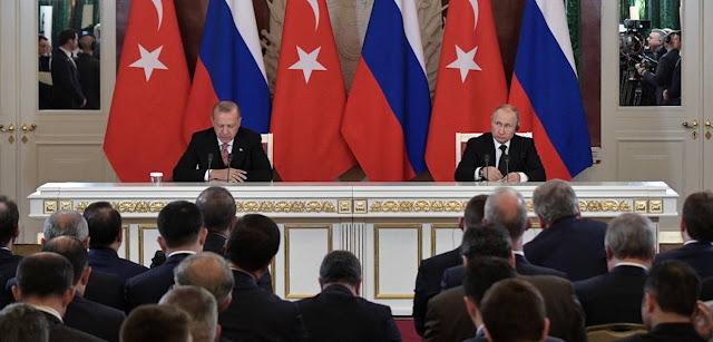 Πούτιν και Ερντογάν...