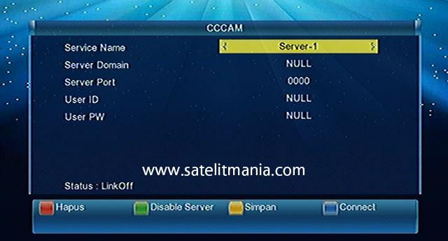 Cara Membuka Kode CCCam di Matrix Burger S8 HD