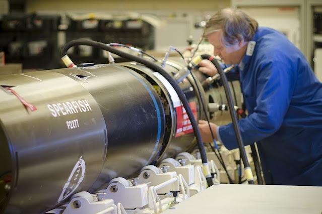 BAE Systems firmó contrato para el mantenimiento y reparación de torpedos de la Royal Navy