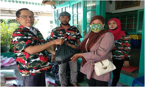 LMP Bengkulu Salurkan Bantuan Beras Tahap Kedua pada Warga Kota Terdampak Covid-19
