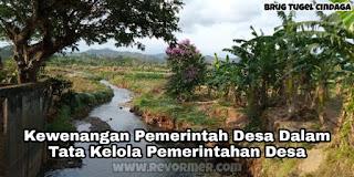 Kewenangan Pemerintah Desa Dalam Tata Kelola Pemerintahan Desa